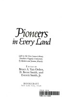 Pioneers in every land