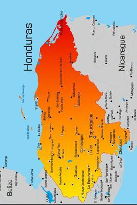 Map of Honduras Jour...