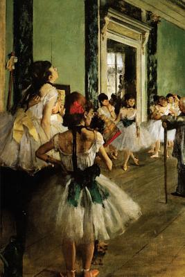 The Dancing Class by Edgar Degas - 1874 Blank/Lined Journal