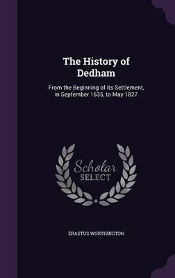 The History of Dedham