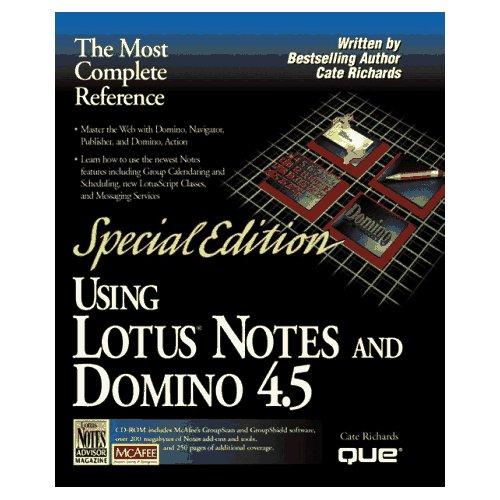 Using Lotus Notes an...