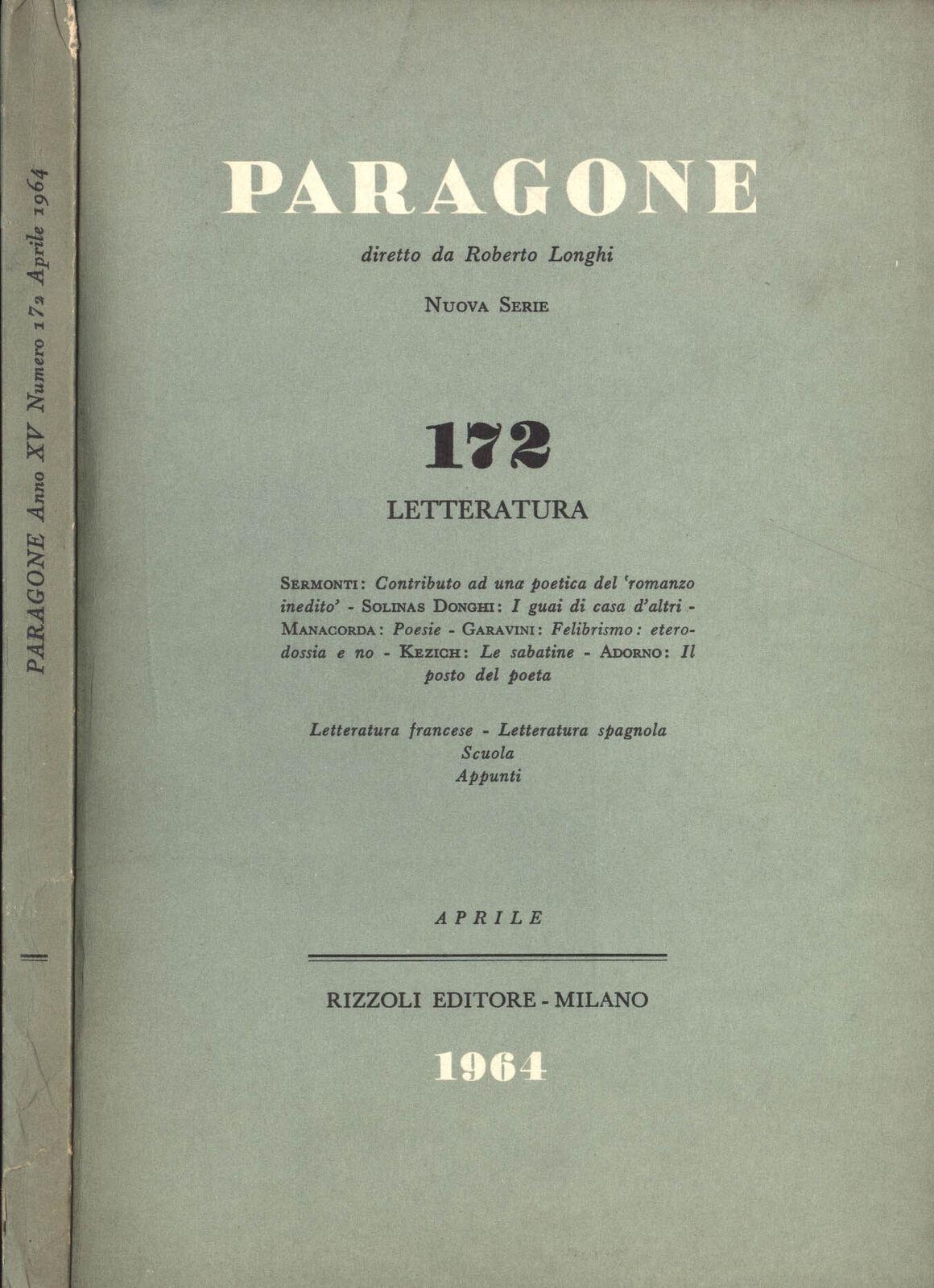 Paragone n. 177 - Aprile 1964