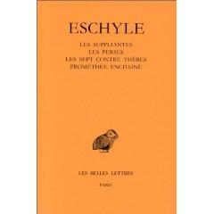 Eschyle 1: Les suppl...