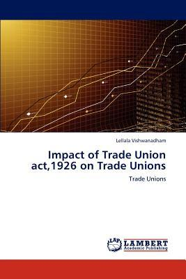 Impact of Trade Union act,1926 on Trade Unions