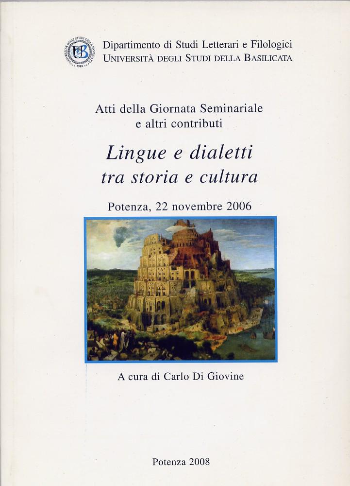 Lingua e dialetti tra storia e cultura