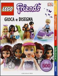 Gioca e disegna. Lego friends. Con adesivi