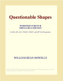 Questionable Shapes (Webster's French Thesaurus Edition)