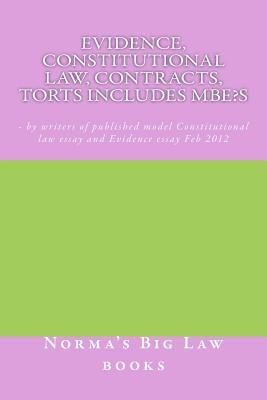 Evidence, Constitutional Law, Contracts, Torts Includes Mbe?