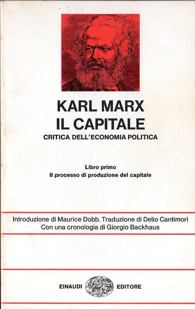 Il Capitale. Critica...