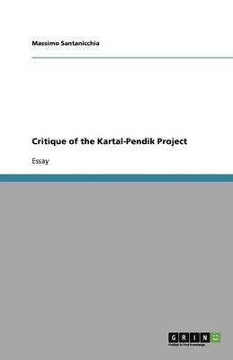 Critique of the Kartal-Pendik Project