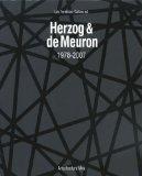 Herzog and de Meuron 1978-2007