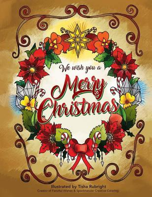 We Wish You a Merry Christmas Coloring Book
