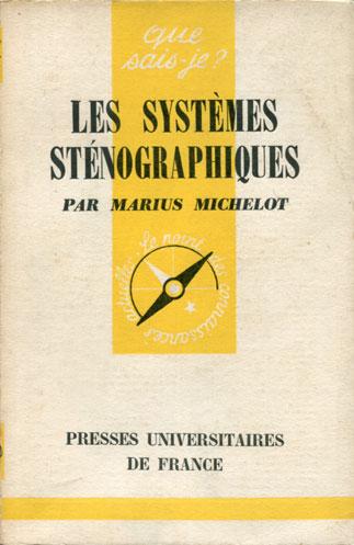 Les systèmes sténographiques