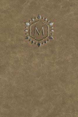 Monogram M Any Day Planner Journal