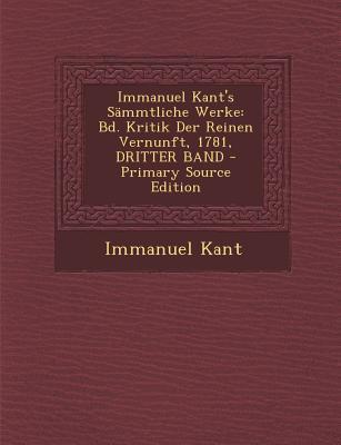 Immanuel Kant's Samm...