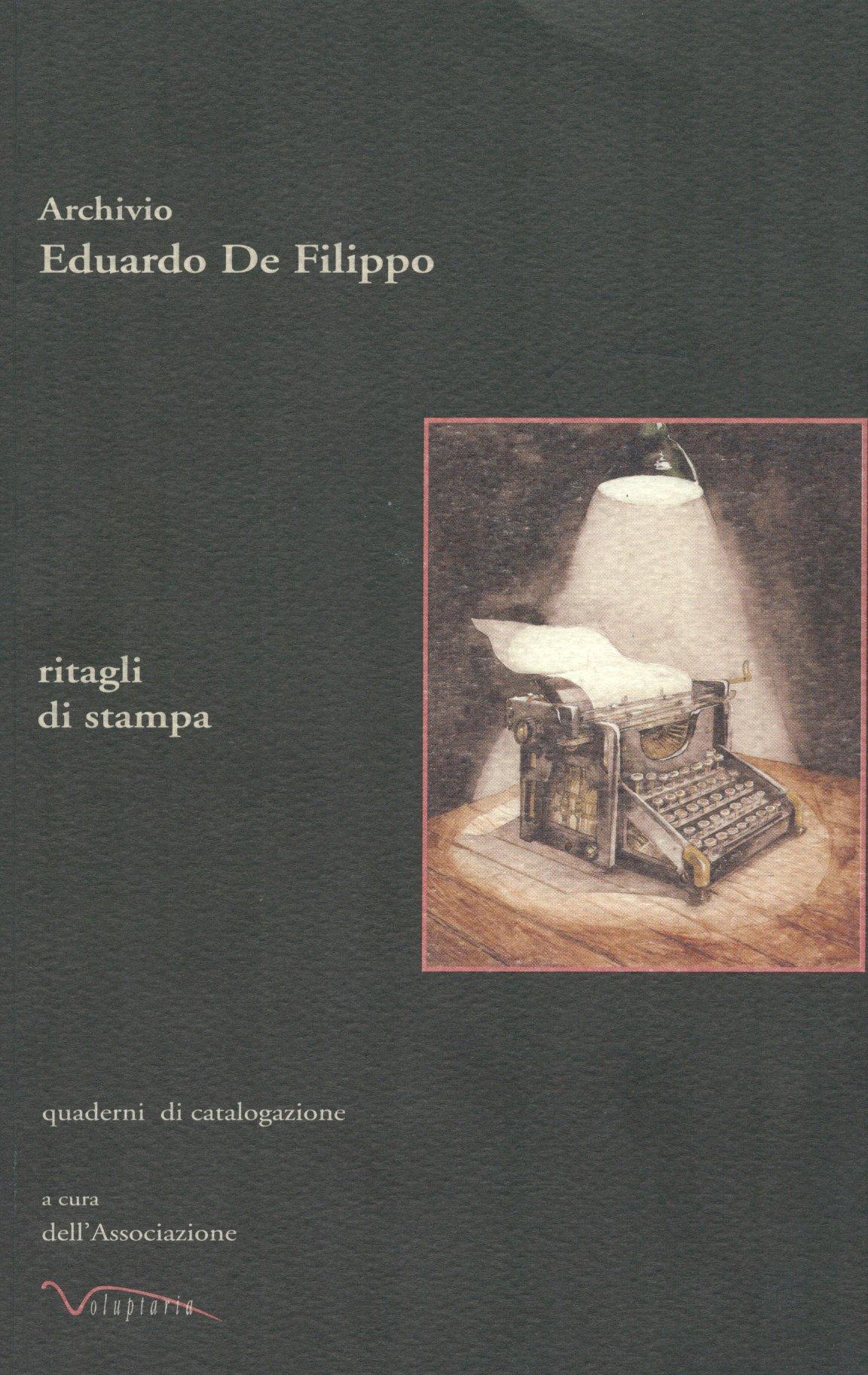 Archivio Eduardo De Filippo ritagli di stampa