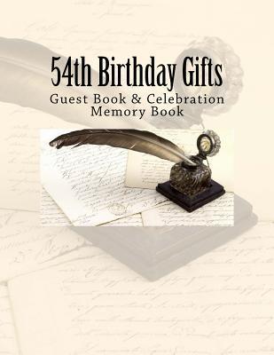 54th Birthday Gifts