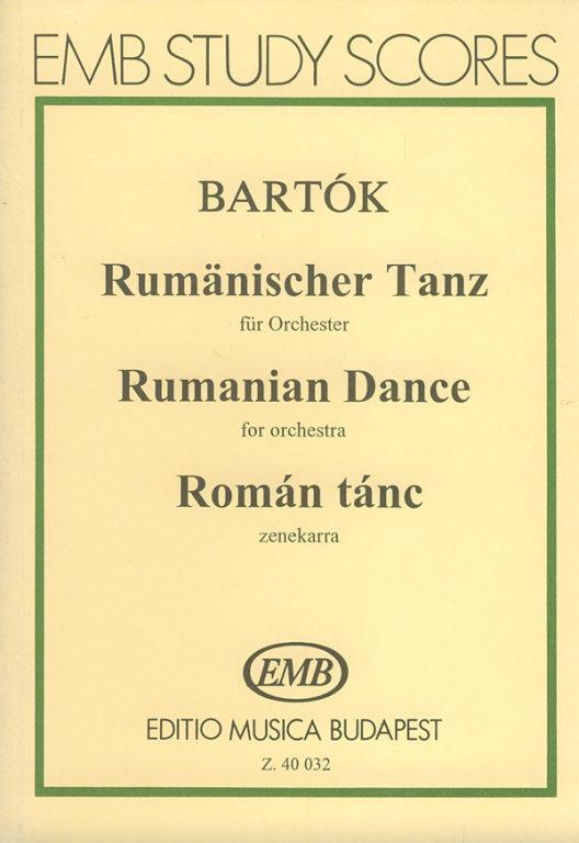 Rumänischer Tanz. Rumanian Dance. Román tánc