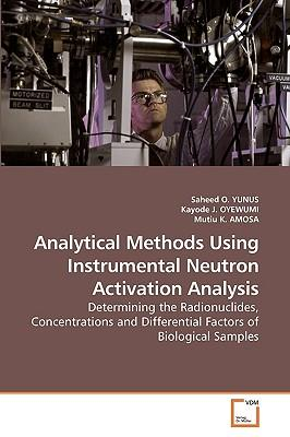 Analytical Methods Using Instrumental Neutron Activation Analysis