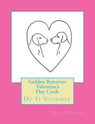 Golden Retriever Valentine's Day Cards