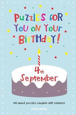 Puzzles for You on Your Birthday, 4th September