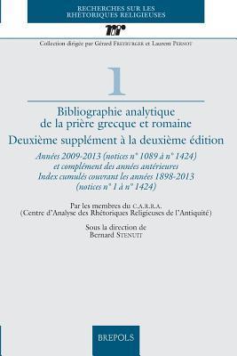 Bibliographie Analytique De La Priere Grecque Et Romaine