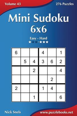 Mini Sudoku 6x6 - Easy to Hard - 276 Puzzles