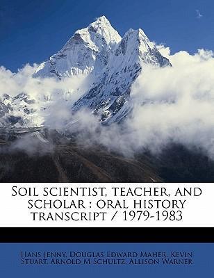 Soil Scientist, Teacher, and Scholar