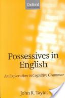 Possessives in English