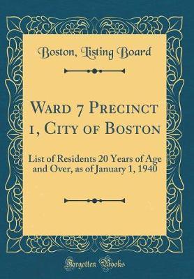 Ward 7 Precinct 1, C...
