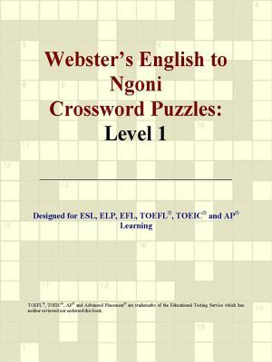 Webster's English to Ngoni Crossword Puzzles