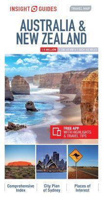 Insight Travel Map Australia & New Zealand