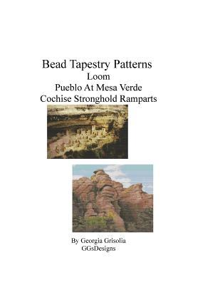 Bead Tapestry Patterns Loom Pueblo at Mesa Verde Cochie Stronghold Ramparts