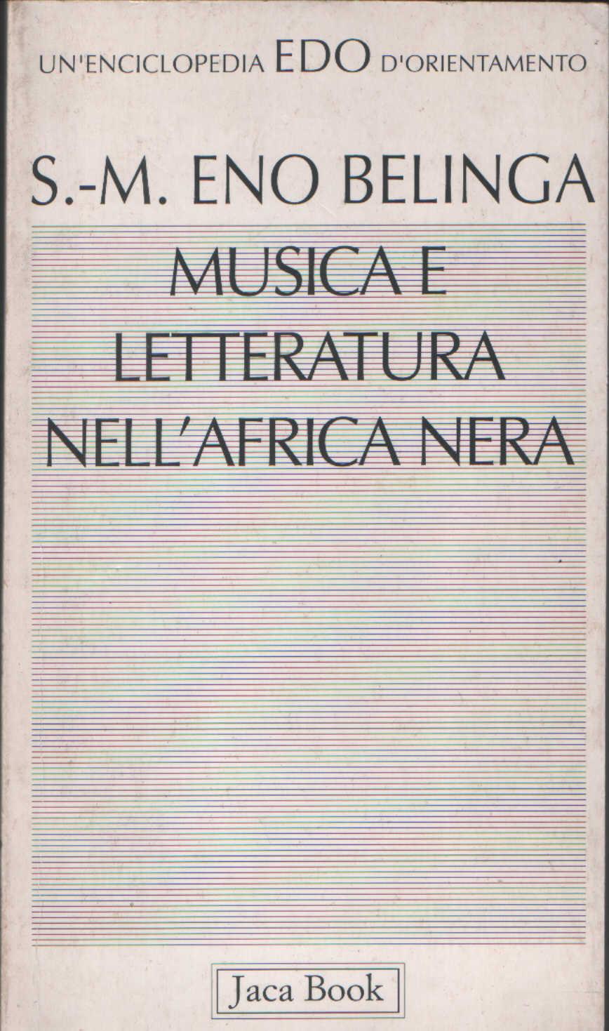 Musica e letteratura nell'Africa nera