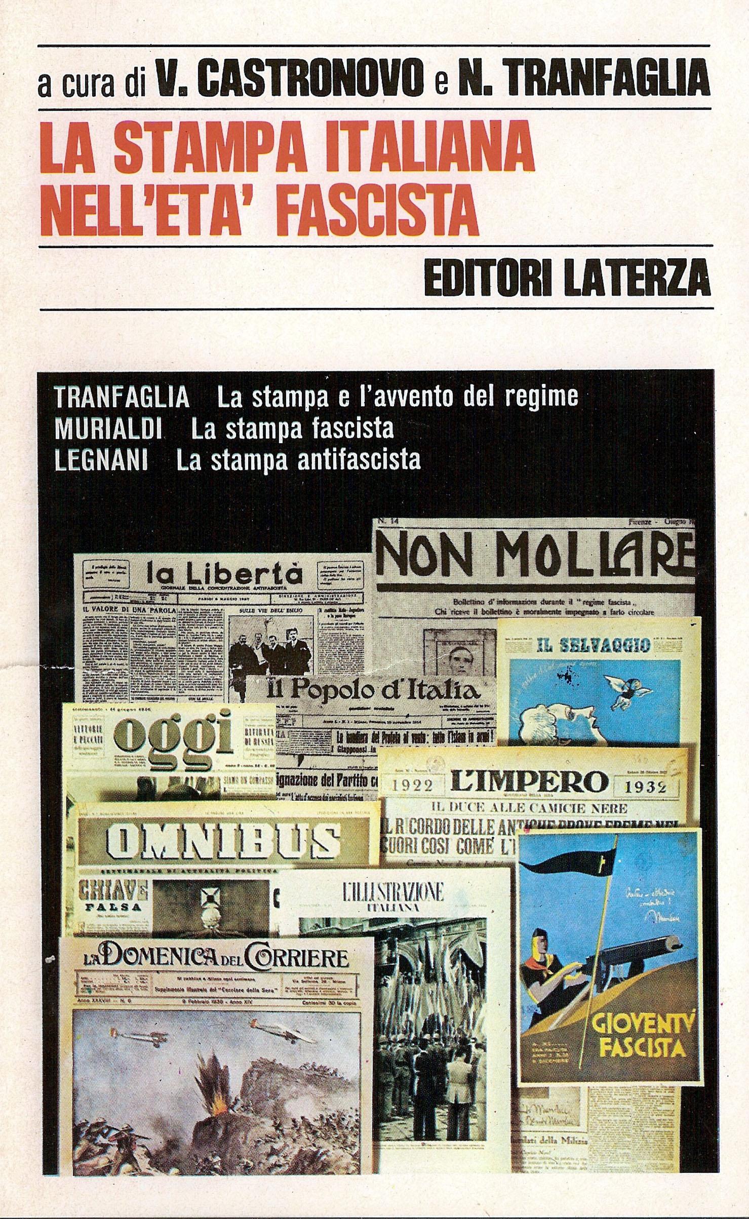 La stampa italiana nell'età fascista