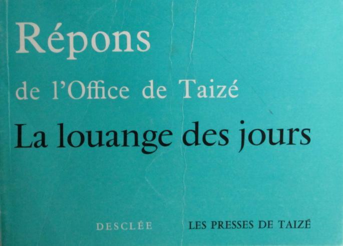 Répons de l'Office de Taizé