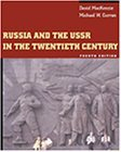 Russia and the USSR in the Twentieth Century