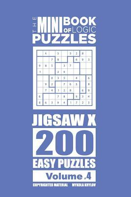 The Mini Book of Logic Puzzles - Jigsaw X 200 Easy