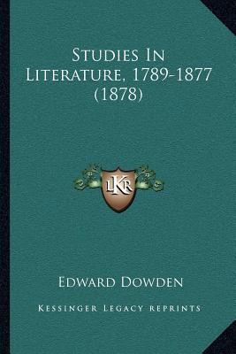 Studies in Literature, 1789-1877 (1878)