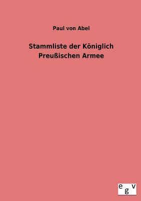 Stammliste der Königlich Preußischen Armee