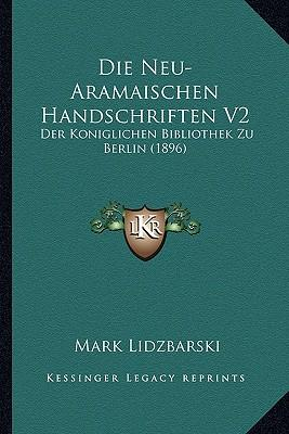 Die Neu-Aramaischen Handschriften V2