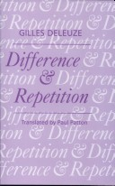 Difference and Repet...