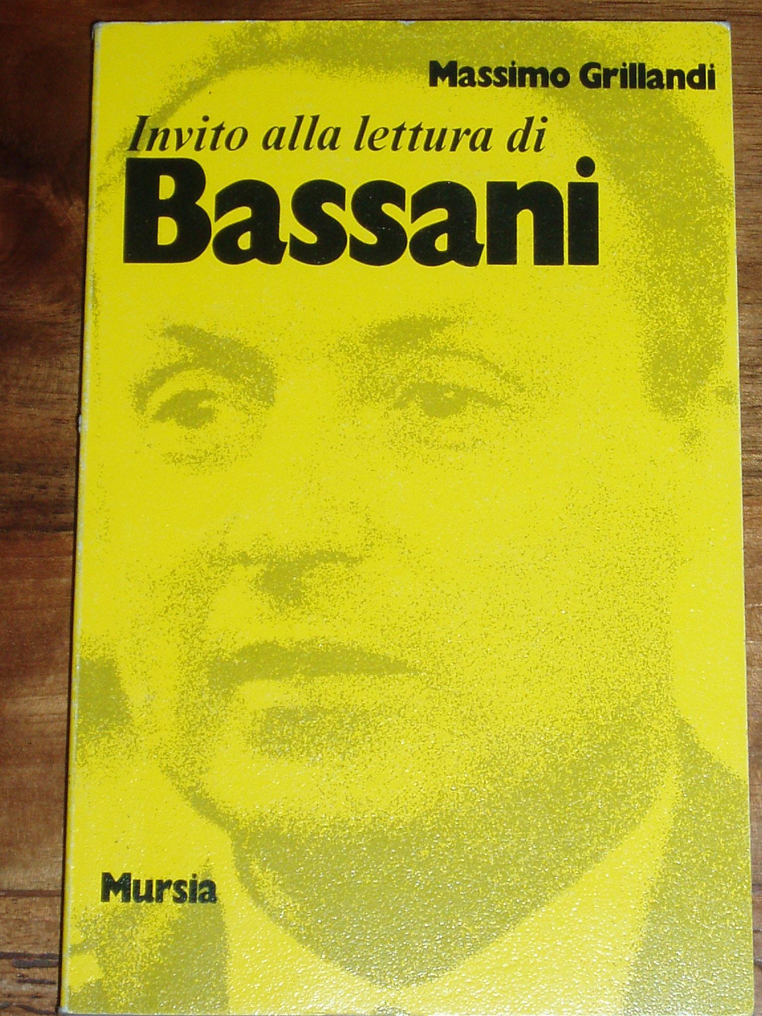 Invito alla lettura di Giorgio Bassani