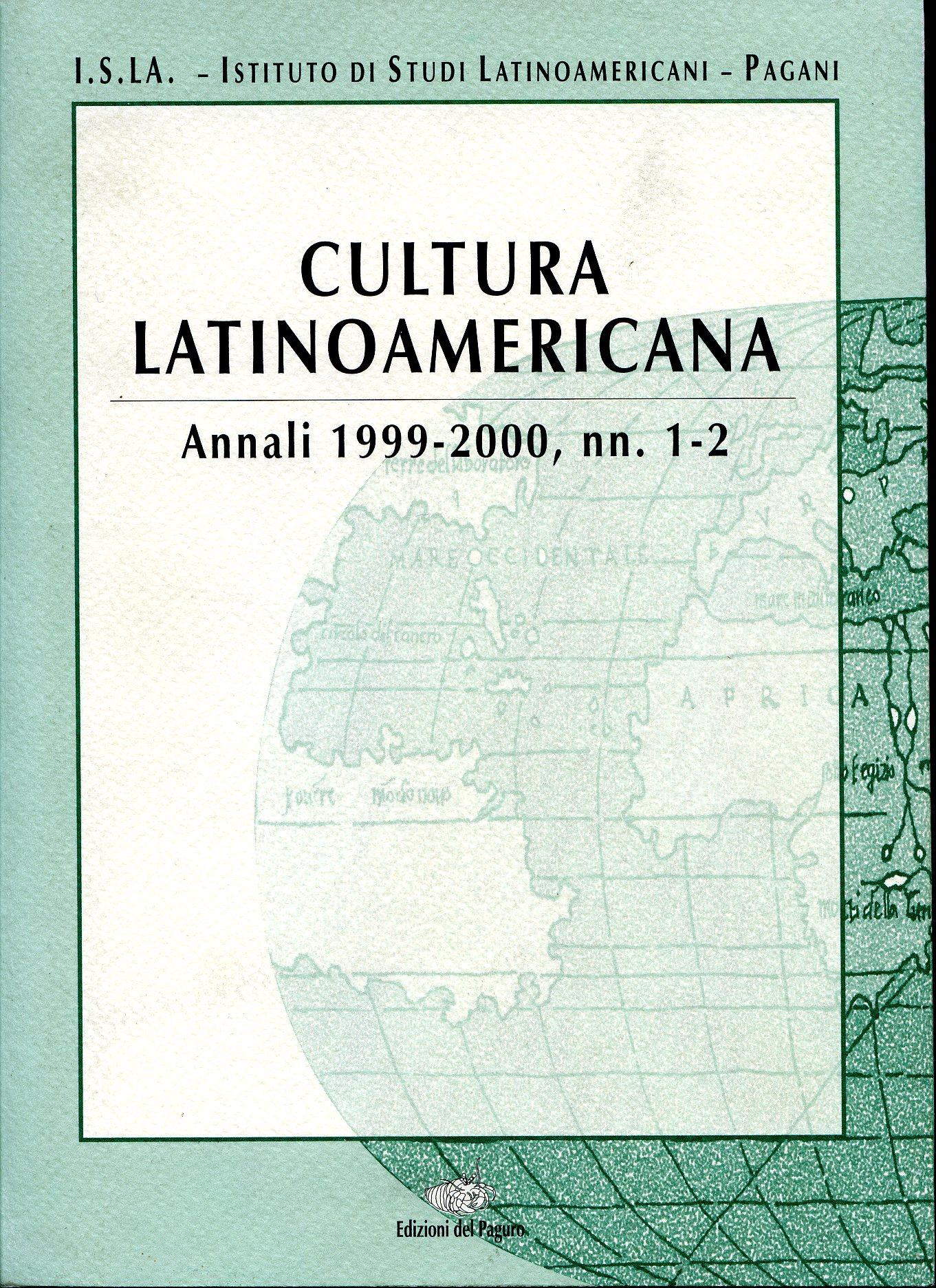 Cultura latinoamericana (1999-2000)