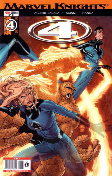 Marvel Knights: 4 #5 (de 6)