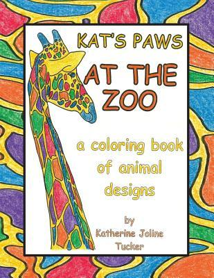 Kat's Paws at the Zoo Coloring Book