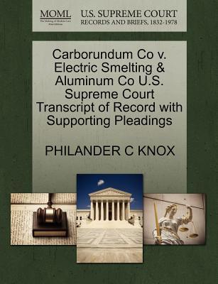 Carborundum Co V. El...