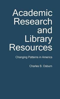 Academic Research and Library Resources