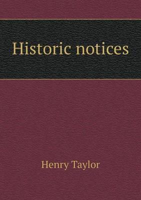 Historic Notices