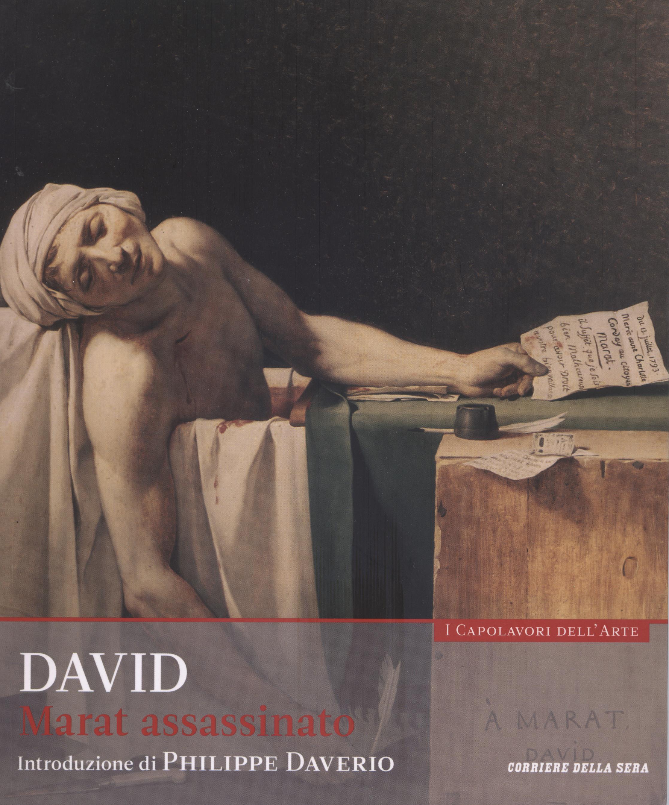 David - Marat assassinato